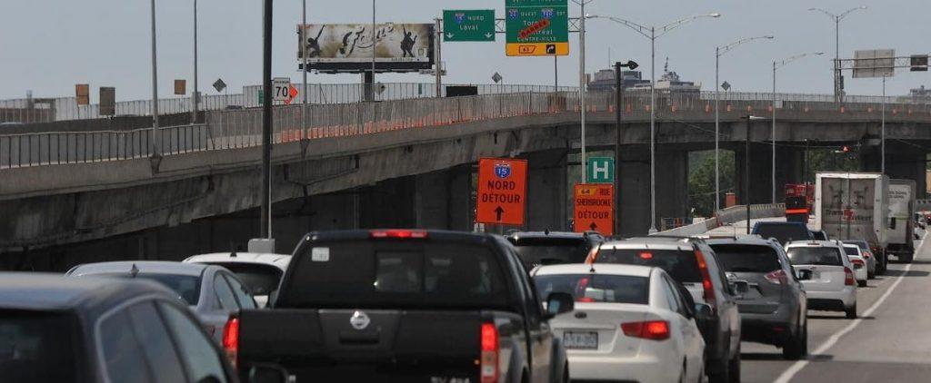 Highway 13 and 40 Interchange: Work resumed on April 5