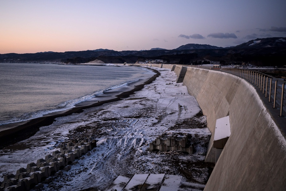 Japan    Anti-tsunami walls, legacy of the 2011 disaster