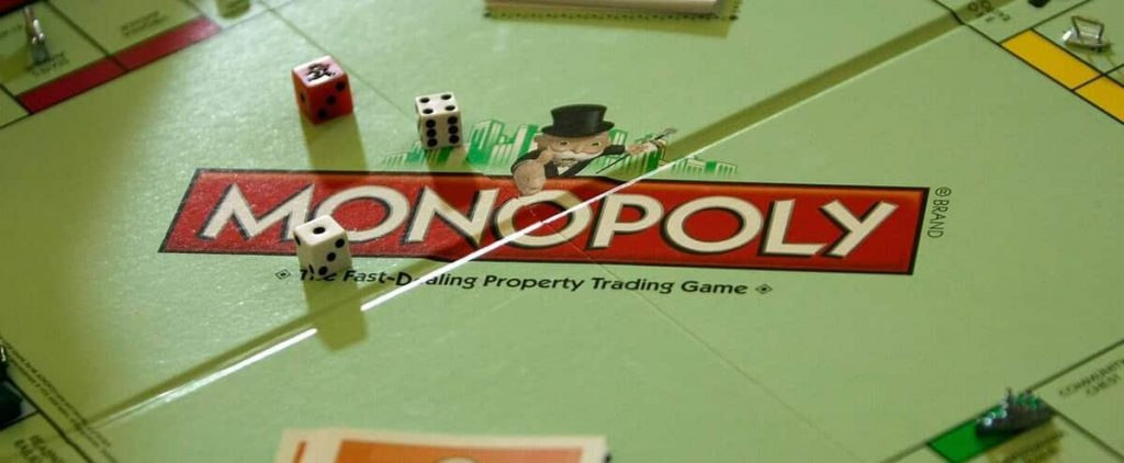 Monopoly corresponds to the game period