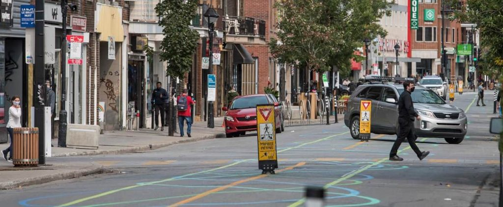 Ontario provokes pedestrian dissatisfaction of the street