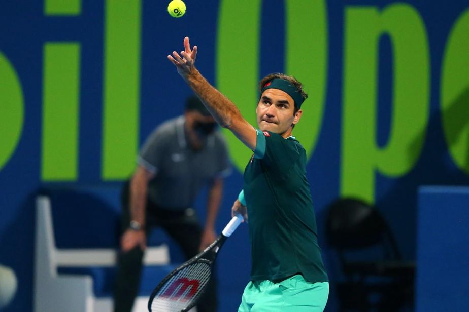 Qatar Omnium |  Roger Federer returned after 13 months of absence