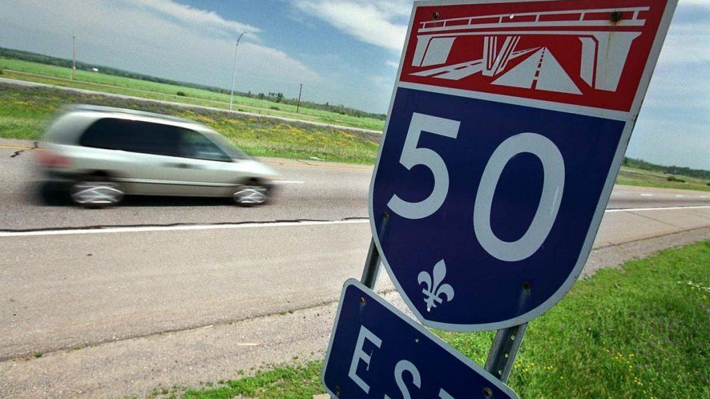 Start widening Highway 50
