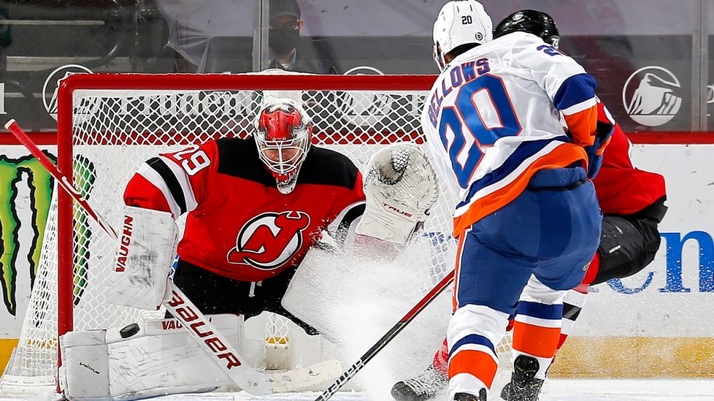 Summary of the NHL Game for March 13, 2021, including the Islanders' 8th consecutive victory