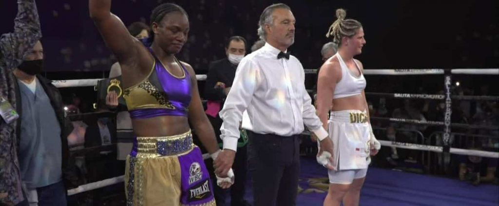 The Claressa Shields were too strong for Mary-Ov Descare