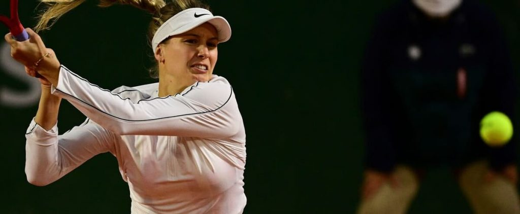 The first of five months for Eugene Bouchard