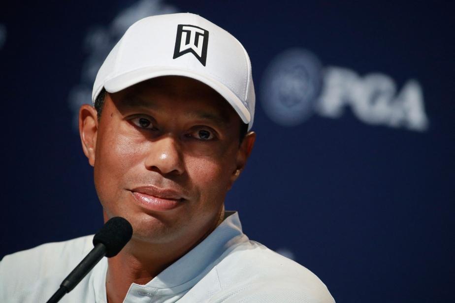 Tiger Woods back home