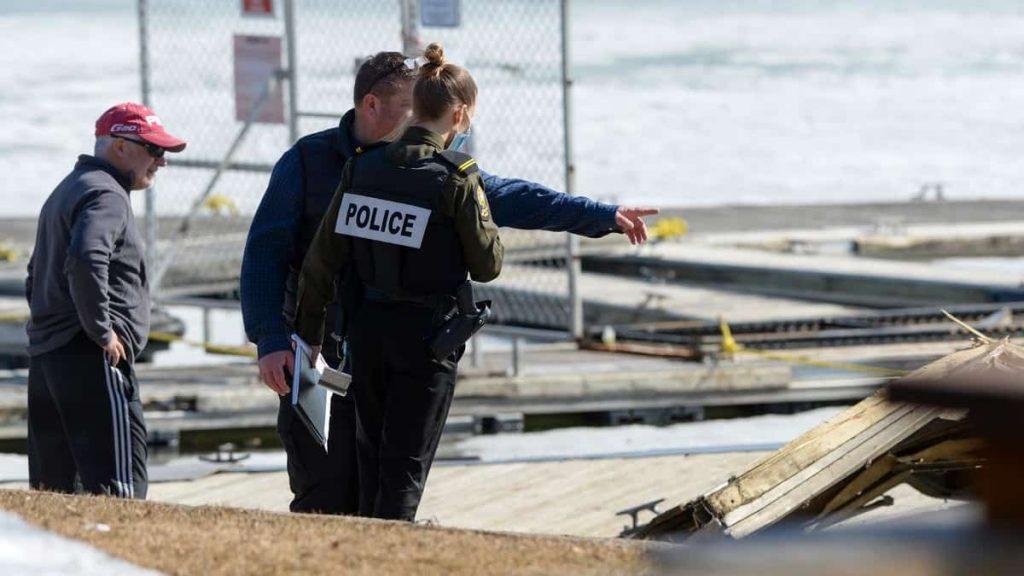 Venice-en-Quebec: A lifeless man with Vermont police