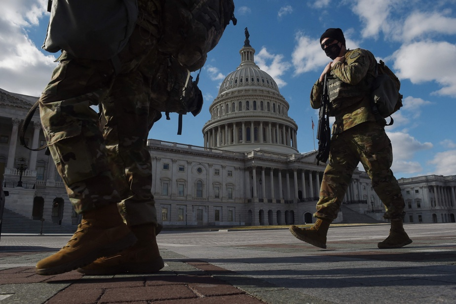 Washington    The National Guard will be at the Capitol until the end of May