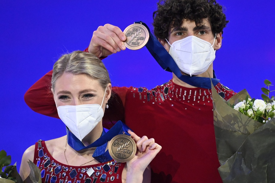 World Figure Skating Championships    Gilles and Poyer won bronze in ice dance