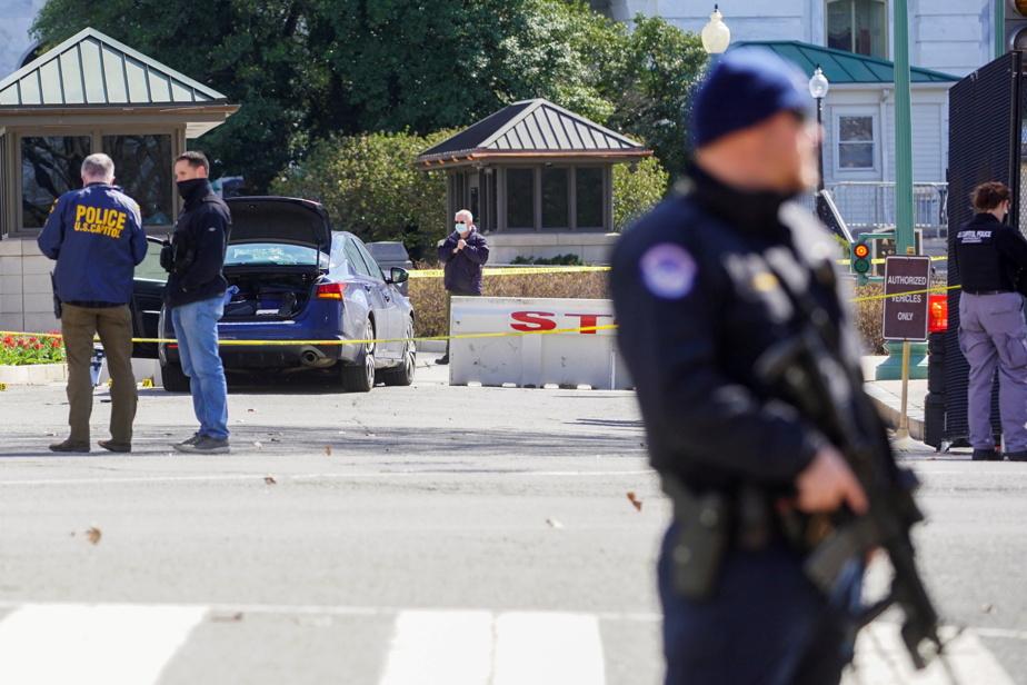 "Washington    Police officer killed in car crash near Capitol, Biden ""destroyed"""
