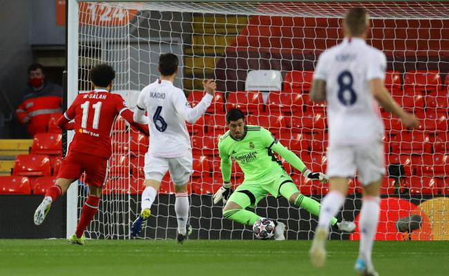 Champions League - Quarterfinals - Champions League: A great Thibaut Courtois' Real Madrid beat Liverpool to reach Chelsea in the semi-finals