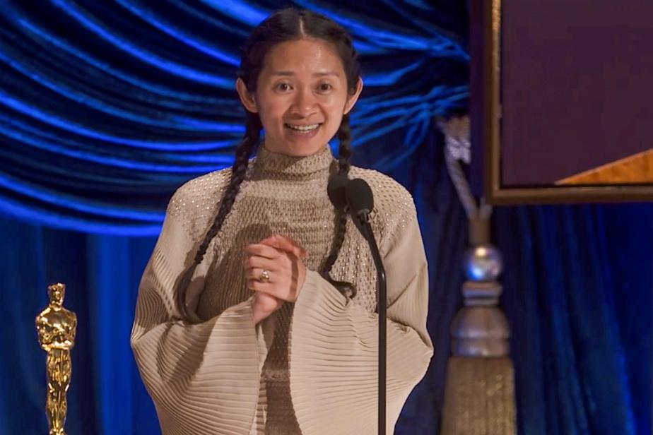 China censor Chloe Zhao wins Oscar