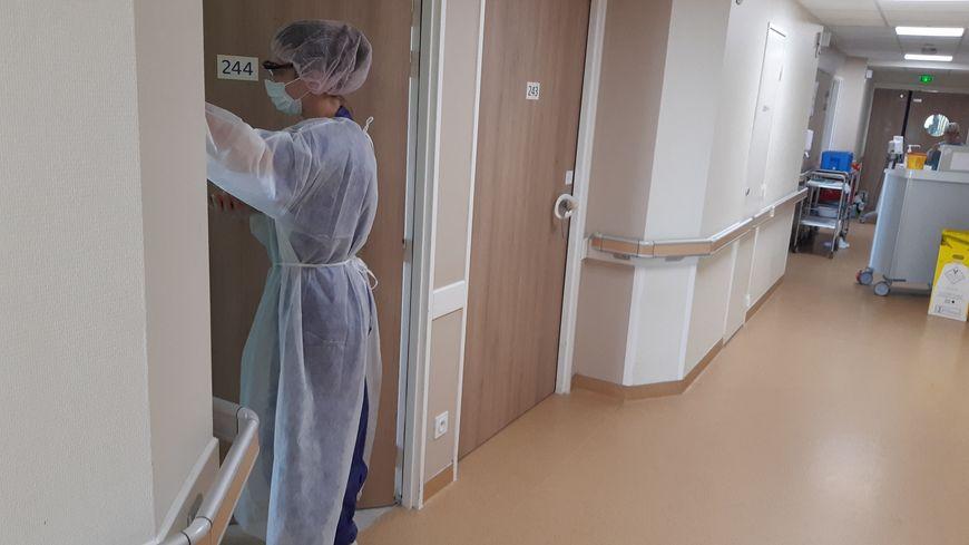 Unité Covid-19 d'une clinique de soins de suite et de réadaptation