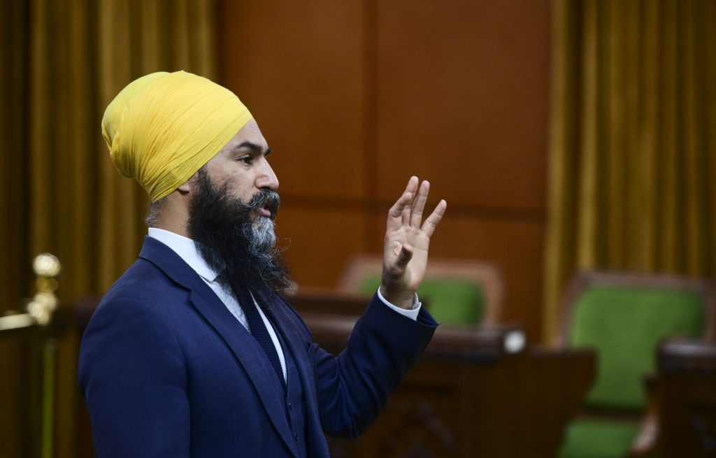 Jagmeet Singh agrees with NDP members' proposal to oppose state secularism law in Quebec