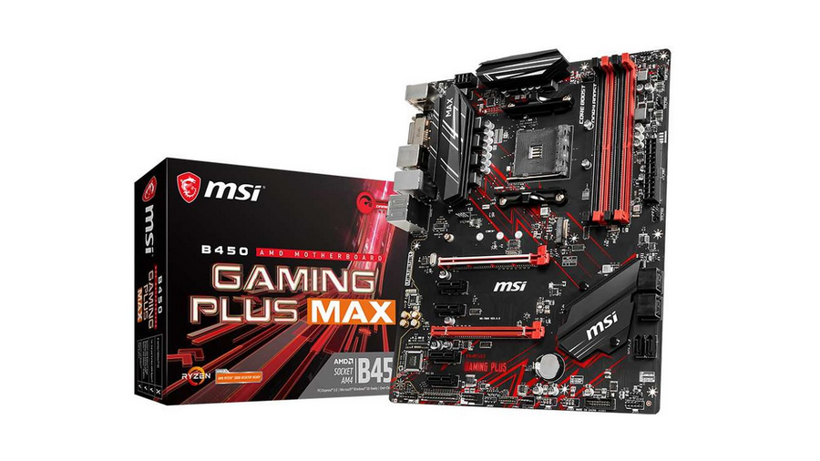 MSI AMD B450 Gaming Plus Max motherboard for less than 80