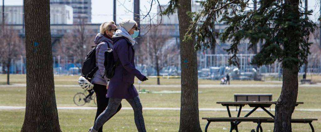 Mandatory mask even outdoors