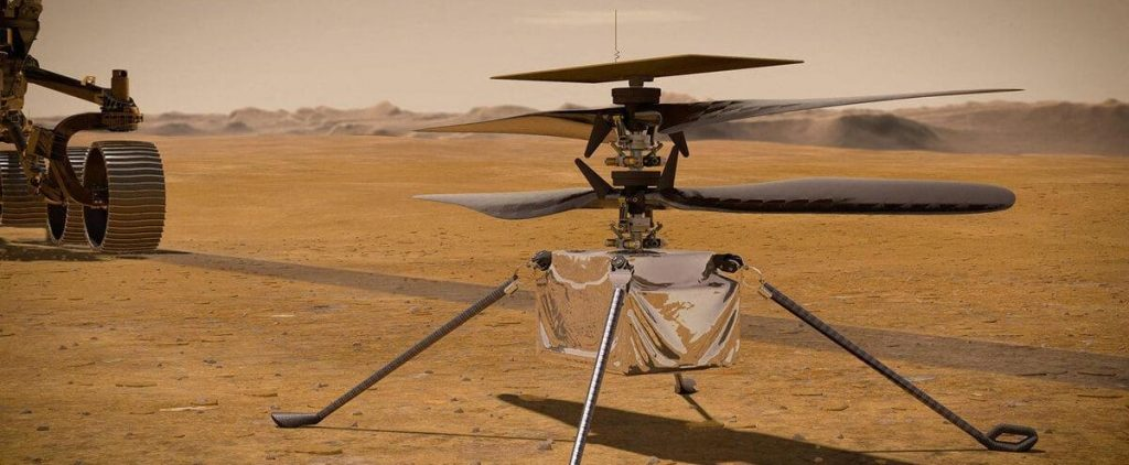 NASA's ingenuity helicopter survived the first night alone on Mars
