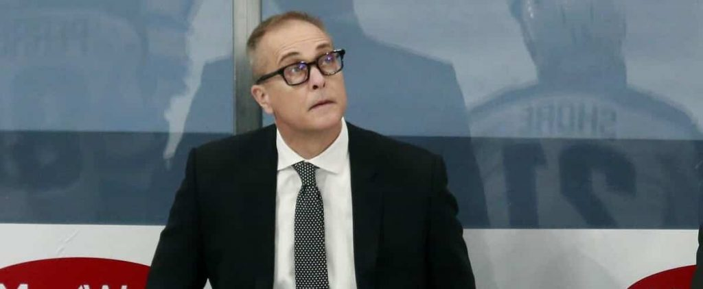 Paul Maurice sends a clear message