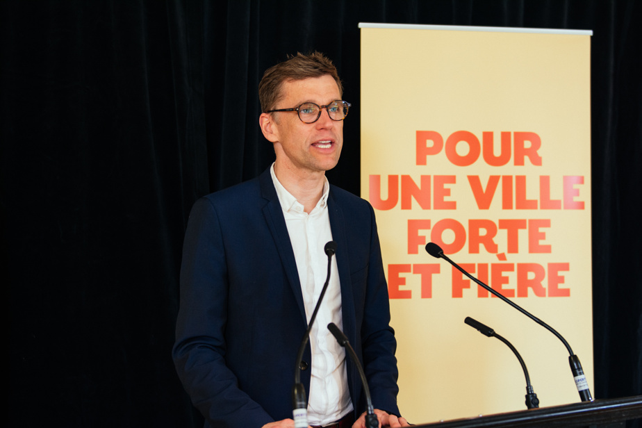 """Quebec    Bruno Marchand wants to """"change the tone"""" at the town hall"""