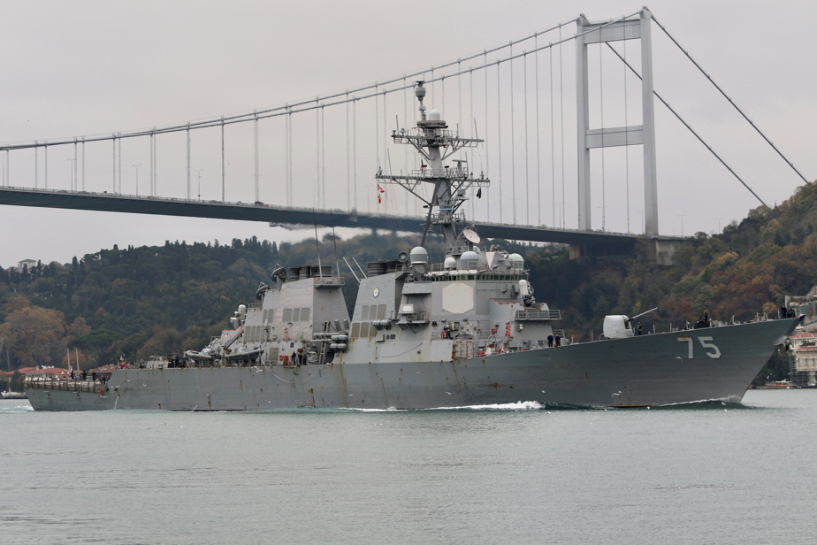 Russia-Ukraine tensions |  The cancellation of a plan for two U.S. warships in the Black Sea has been canceled