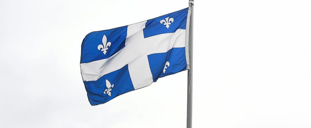 The population of Quebec is sinking