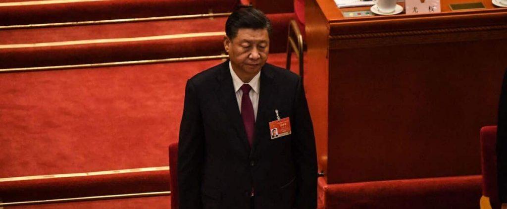 "Xi Jinping calls on Merkel to call on the EU to make ""positive efforts"" towards China"