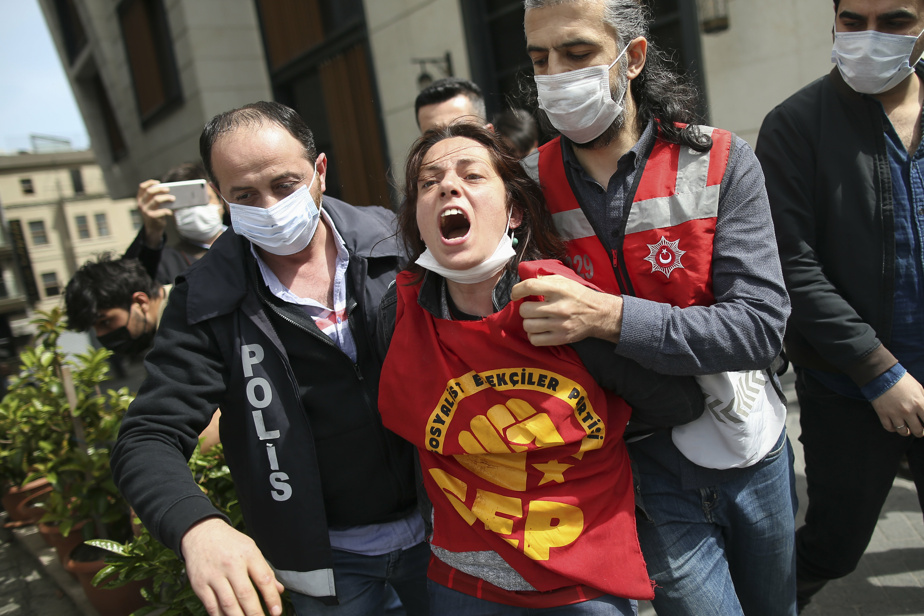 May 1 show |  Dozens of arrests in Istanbul