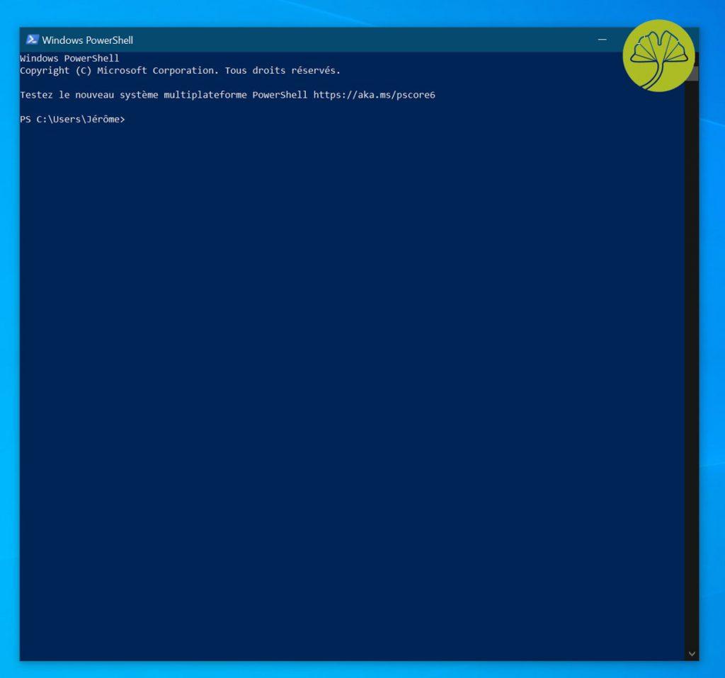 Windows 10 and PowerShell