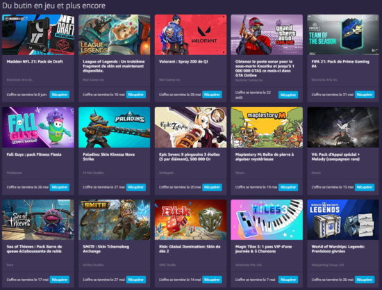 Amazon Prime Gaming: Free Games for May 2021