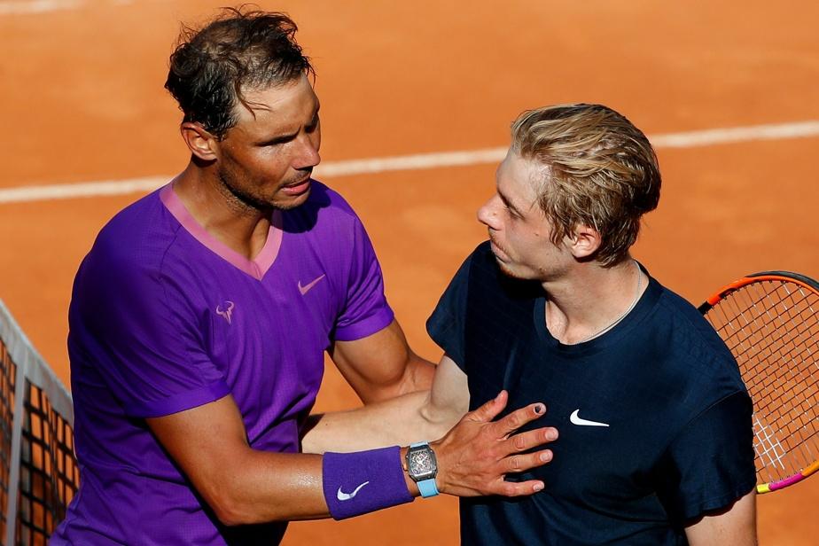 Rome Tournament    Nadal defeats Shapovalov, Agar-Aliassim eliminated