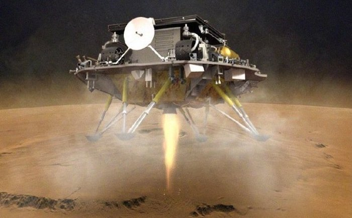 China has made history by landing its racing car on Mars