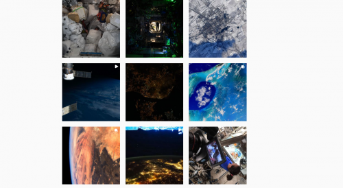 A month after Thomas Pesquet arrived at the ISS, find his beautiful photos of Earth