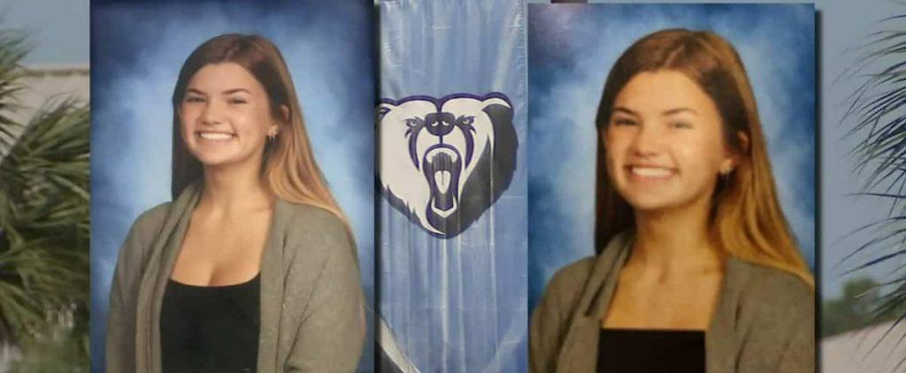 A school retrieves photos of many graduates