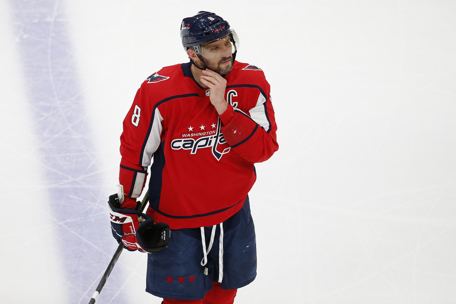 Alexander Ovechkin was confident of staying with the capitals