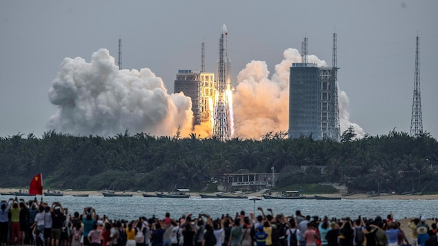 Chinese Rocket: Uncontrolled return to Earth scheduled for this weekend