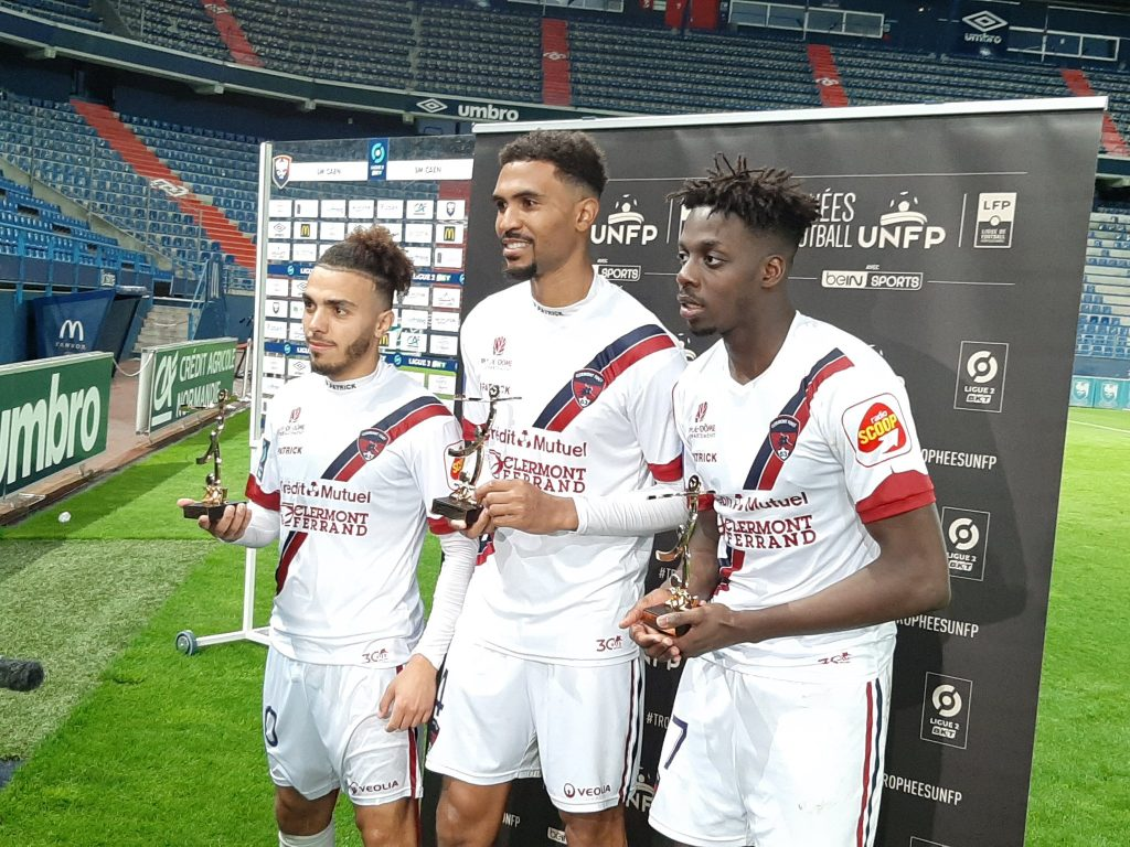 Clermont and Akim Zedadka are in League 1 of the regular squad this season