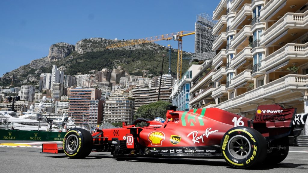 F1: Charles Leclerc sets fast time for 2nd free practice session in Monaco