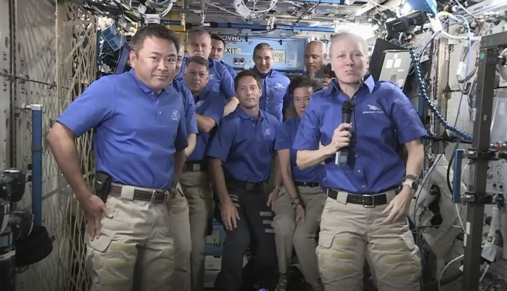 Four astronauts leave ISS on land |  World |  News |  Is good