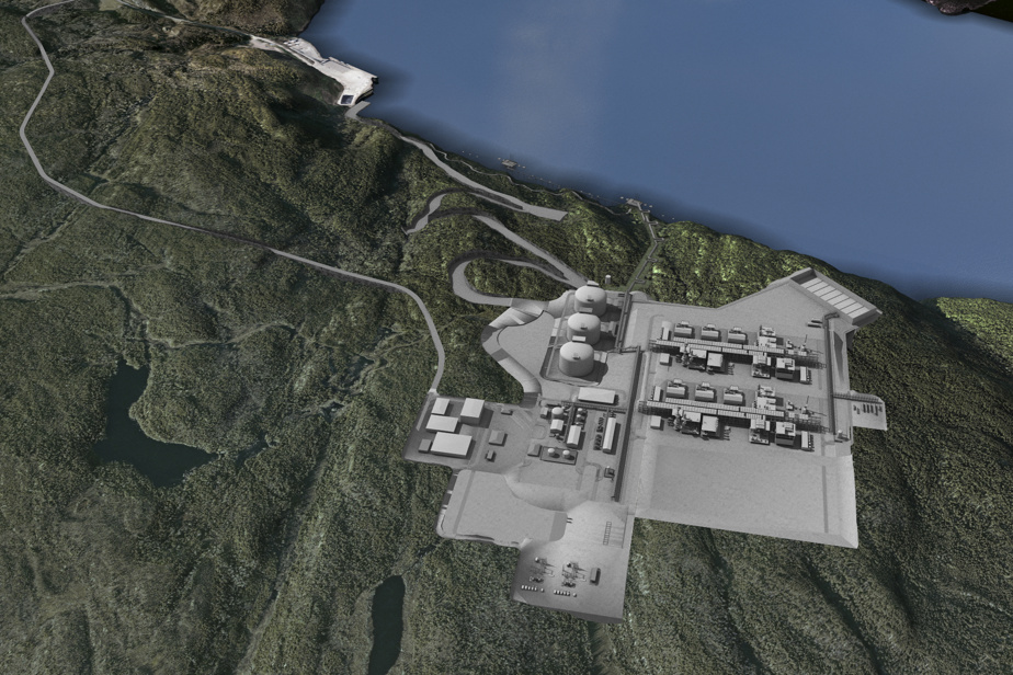 LNG Quebec in Sagune says no more to the project