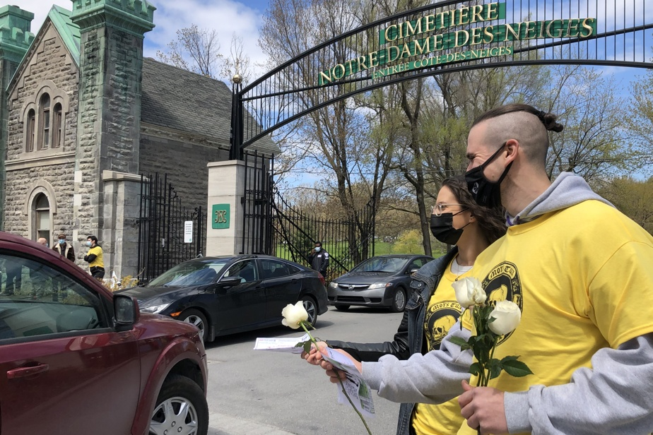 Notre-Dame-des-Niges Cemetery |  Employees condemn the slow pace of negotiations