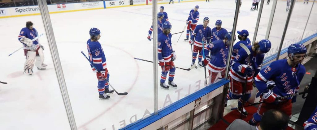 Press Release on Parros: The Rangers were severely punished