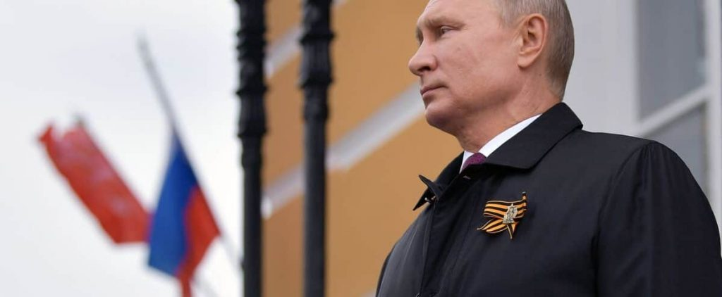 """Putin has promised to """"break the teeth"""" of those who attack Russia"""