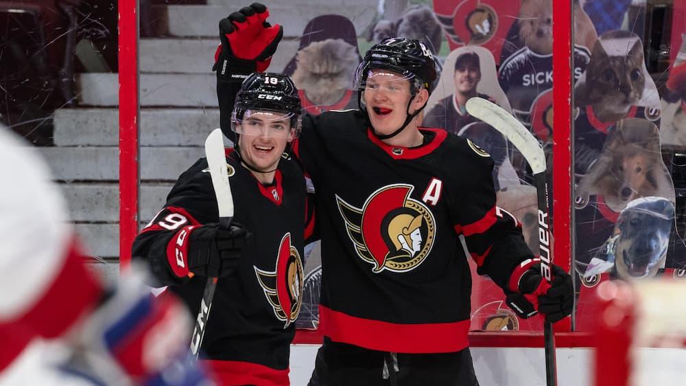 Senators enjoy against Canadians