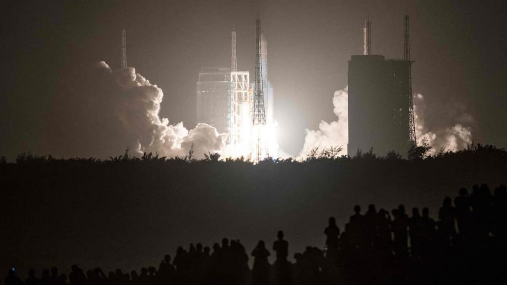 The Pentagon has no plans to destroy an uncontrolled China rocket