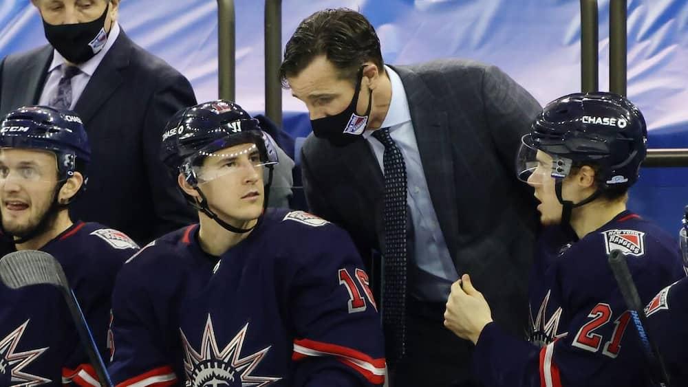 The Rangers fired their head coach