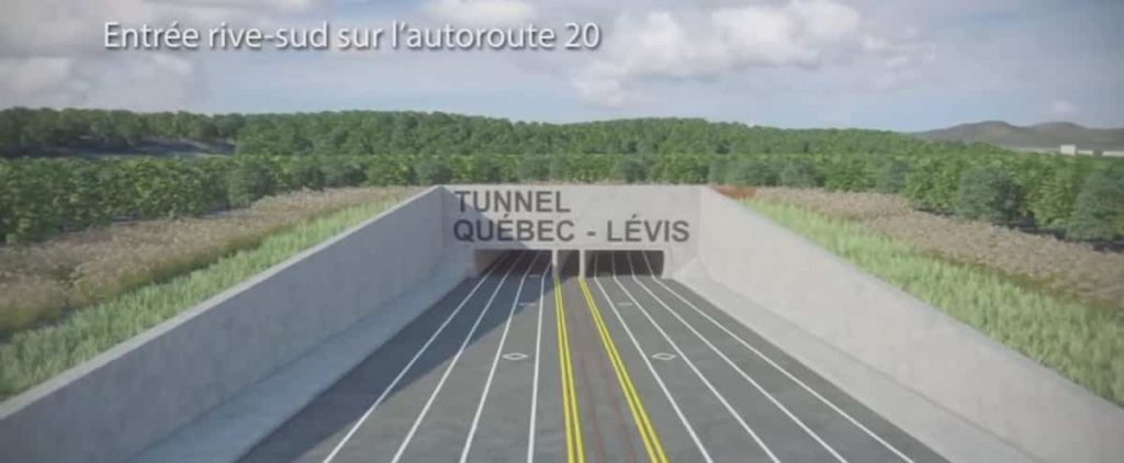 The road network plan for the Quebec area was unveiled on Monday
