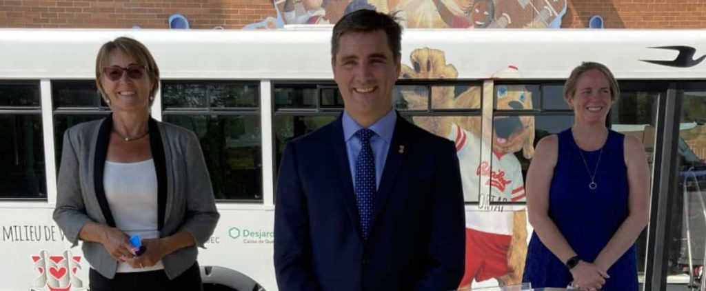 """The tram will be the """"question of the ballot box,"""" according to Gosselin"""