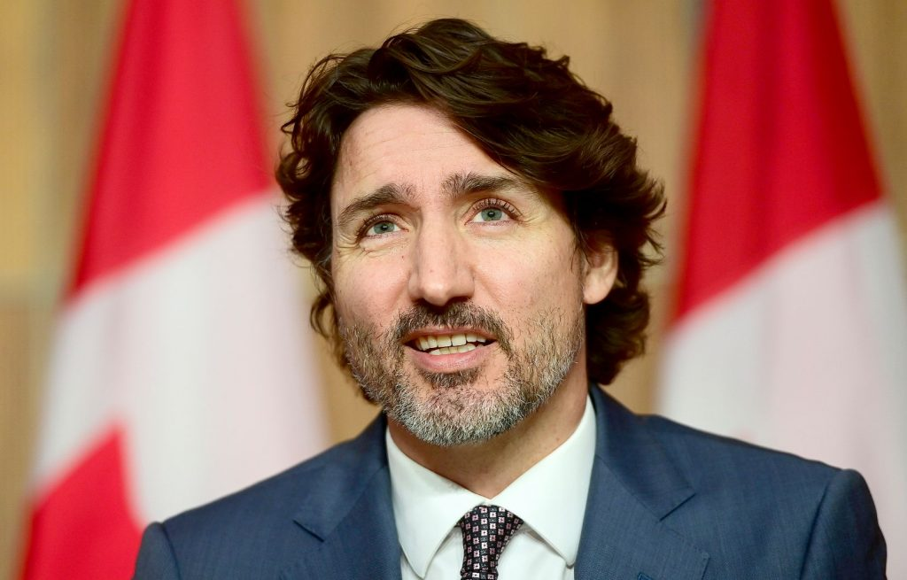 Trudeau agreed that he could amend his part of the Quebec Constitution