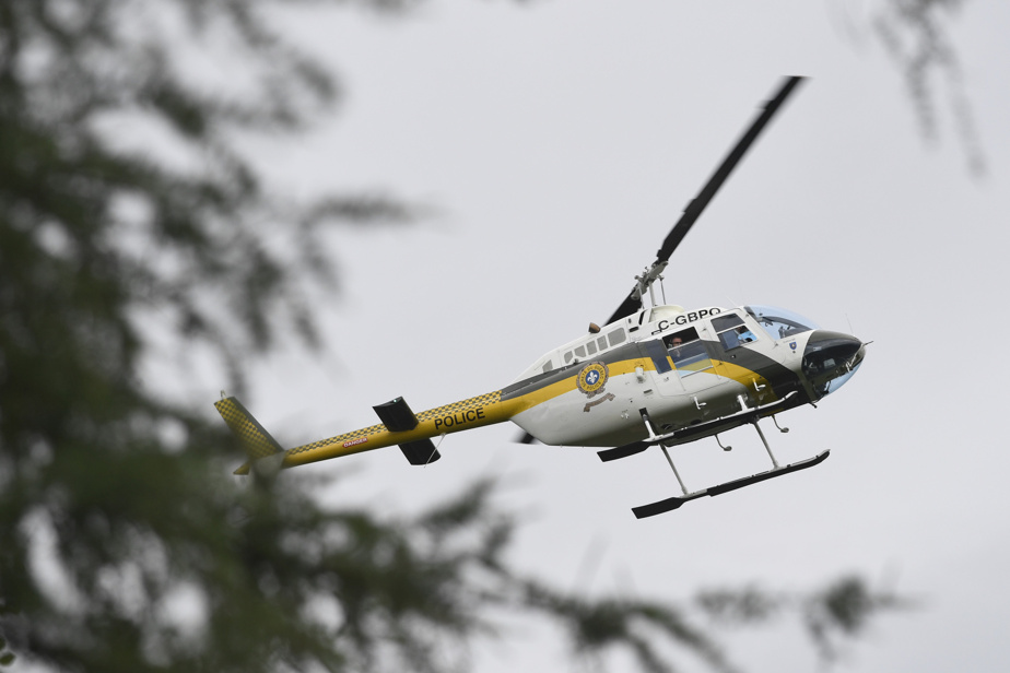 Decontamination in Montreal |  Helicopters fly low to patrolling parks