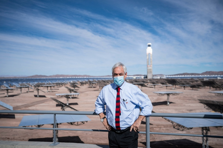 110 MW of pure electricity |  A huge solar power plant has opened in Chile